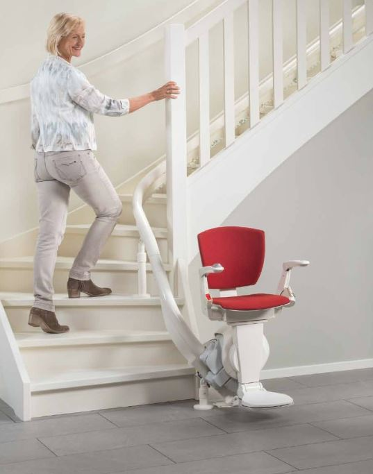 Otolift Air Stairlift from Direct Stairlifts Derby