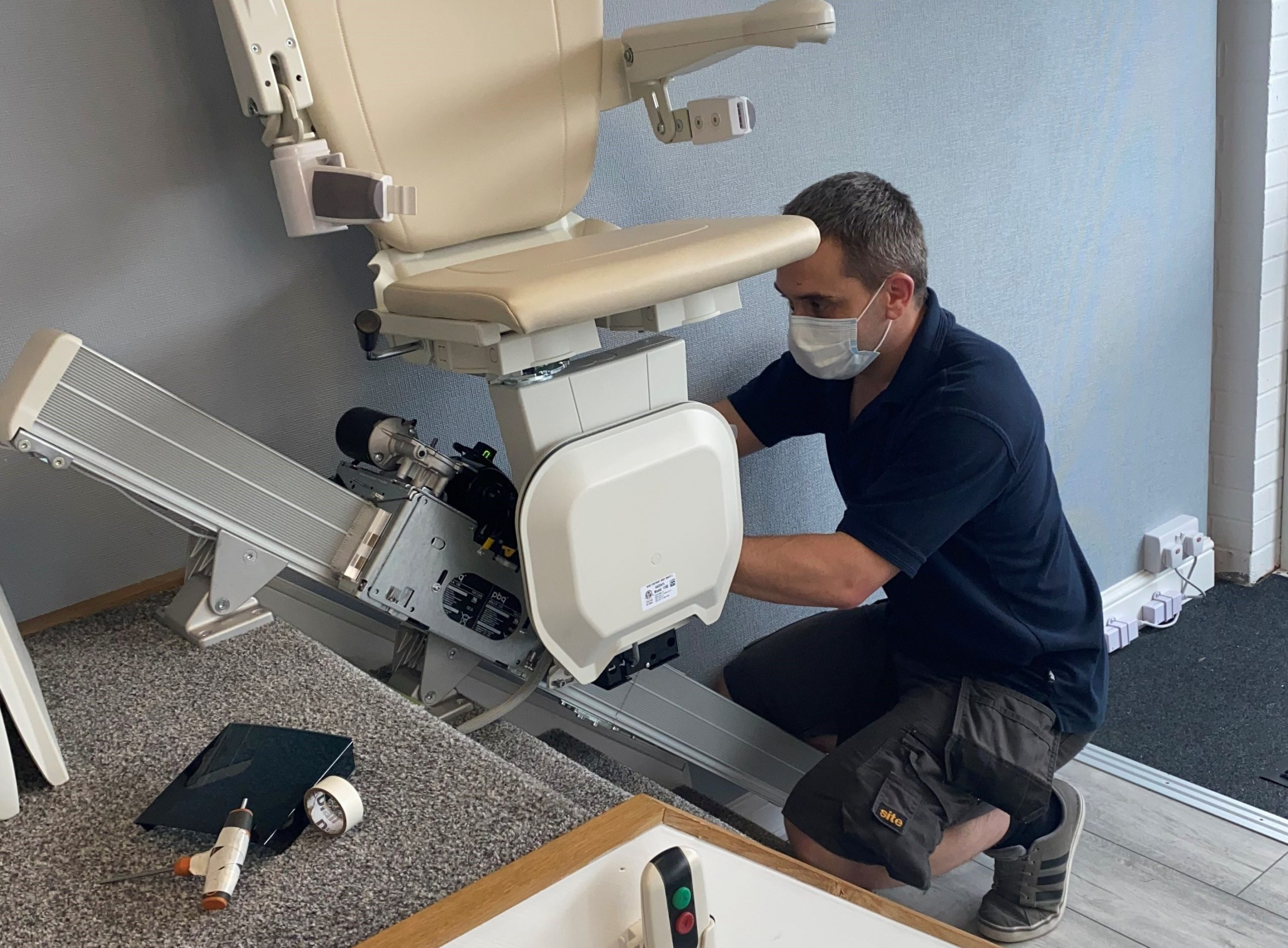 Stairlift repair from Direct Stairlifts Nottingham Derby